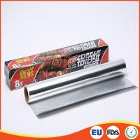 China Household Aluminium Foil Roll Paper Food Grade For Cooking / Baking SGS Standard on sale