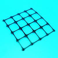 Extruded Polypropylene Plastic Geogrid Soil Reinforcement Biaxial Geogrid Manufactures