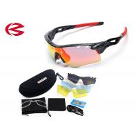Anti Shock UV400 Interchangeable Lens Sunglasses Comes With Hard Case CE Manufactures