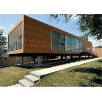 Small Airtight Wild Vacation Modern Modular Container House With Sandwich Panels Manufactures