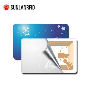 China PVC Blank White RFID UHF Card on sale