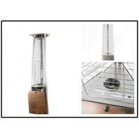 650mm Gas Garden Patio Heaters , Outdoor Propane Tower Heater 3 Heat Settings Manufactures