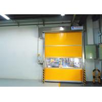 Electric Interior Industrial High Speed PVC Rolling Door Automatic Fast Roll Up Door Manufactures