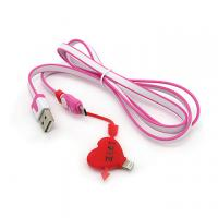 cartoon 2 in 1 USB cable for samsung htc phone 4.5.6 Manufactures