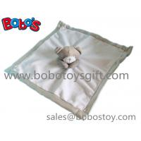 EN71 Approved Stuffed Brown Bear Style Baby Blanket Plush Baby Comforter Manufactures
