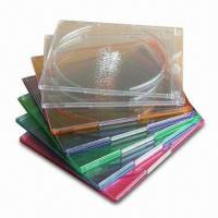 8cm Mini Single CD Jewel Case, Available in Assorted Colors Manufactures