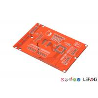 China Base Material FR 4 Industrial PCB Layout Prototype With Red Solder Mask on sale