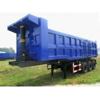 60 Tons Loading Tri Axle Dump Truck TM1831060A With Hyva Front Lifting Cylinder Manufactures