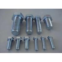 China Carbon Steel Metric Hex Head Bolts Screws 4.8 8.8 Grade DIN933 DIN93116mm-70mm on sale