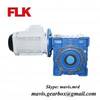 Cast iron Worm speed reducer gearbox 1400rpm electric motor speed reducer Manufactures