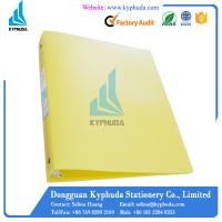 Plastic eco friendly 1 inch 3 O ring perfect binder Manufactures