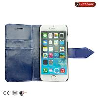 China Wallet Style Leather Cell Phone Cases hot-pressing With Belt Clip on sale