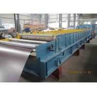 235Mpa Feeding Coil 1219mm Width Metal Tile Roll Forming Machine With Stacking Use Panasonic PLC Manufactures