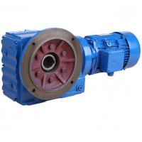 China K Series Helical Bevel Gear Motor Right Angle Gearbox For Conveyor Belt / Cylinder Roller on sale