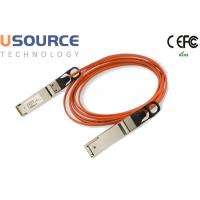 56G Quadwire AOC 4x14G Infiniband FDR QSFP 56G Breakout Active Optical Cable Manufactures