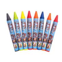 24 PCS 88x8mm factory custom printing best selling cheap crayon/ 24 PCS Eco-friendly colorful 88x8mm Normal wax crayon Manufactures