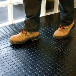 Interlocking Industrial PVC Vinyl Floor Tiles Garage Floor PVC Mats Manufactures