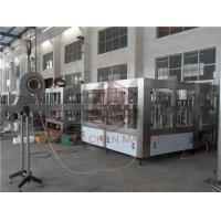 China Counter Pressure CSD Carbonated Drink Filling Machine / Soft Drink Bottling Equipment on sale