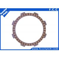 High Performance Motorcycle Clutch Plate / Paper Based Clutch Plate K70A Manufactures