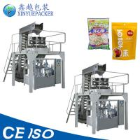 Reliable Rotary Pouch Packing Machine / Zipper Pouch Packing Machine For Granules Manufactures
