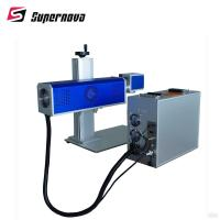 30W / 50W Co2 Laser Marking Machine With 1.6 Beam Quality 6000mm Speed Manufactures