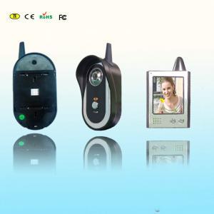 China 2.4ghz Wireless Audio Video Intercom Door Phone With Recording on sale