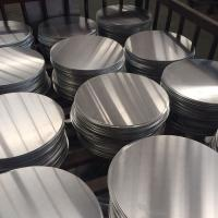 2019 Anodized Aluminum Discs 0.8mm With CE And ISO9001 Certificates Metal Disc Manufactures