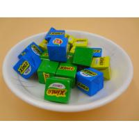 Large Sugar Cubes / Cube Shaped Candy Crispy Feeling Green Snack Foods Manufactures