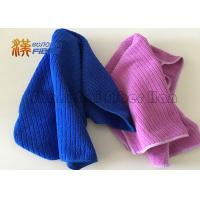 Quality 40X40cm 400gsm Microfiber Cleaning Cloth , Auto Detailing Microfiber Towels for sale