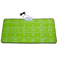 China 32 Bit TV PC USB Game Interactive Dance Mat Green For 2 Players on sale
