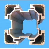 6005 Silvery Anodized Industrial Aluminium Profile , Milling Aluminum Dovetail Extrusion Manufactures