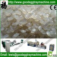 Quality reusing epe foam recycle/granular making machine for sale