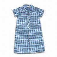 Buy cheap School Uniform, Made of Poly Cotton Poplin, Yarn-dye Plaids, Customized Sizes, from wholesalers