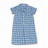 Buy cheap School Uniform, Made of Poly Cotton Poplin, Yarn-dye Plaids, Customized Sizes, from wholesalers