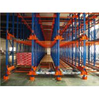 China Q235 / Q345 Material Warehouse Shuttle System , Corrosion Protection Pallet Racking System on sale