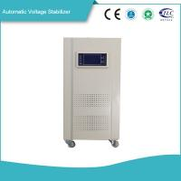 High Efficiency Automatic Voltage Stabilizer 10KVA - 90KVA CPU Intelligent Controlled Manufactures