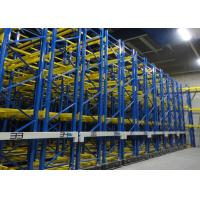 Electrical Mobile Pallet Racking System 100% Storage Space Increased Aisle Saving Manufactures