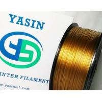 Gold 1.75MM High Temp 3D Printer Filament 1KG / Spool With Good Chemical Resistance Manufactures