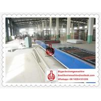 China Fireproof Magnesium Oxide Board / Sandwich Panel Making Machine 23KW Total power on sale