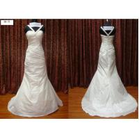 Trumpet Straps Sweetheart Floor Length Real Sample Wedding Dresses / Bridal Gown Manufactures