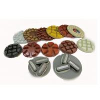 High Efficiency Floor Polishing Pads Diamond Pads For Concrete Floors Manufactures