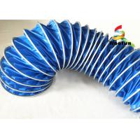 Fire Retardant Flexible Air Duct PVC For Ventilation Easy Installation Manufactures