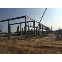 Easy Installation Steel Structure Workshoop Buildings Customized Design Manufactures