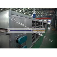 8000 Pcs / H Capacity Paper Egg Crate Making Machine Energy Saving Green Color Manufactures