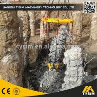 China Cutting diameter 1050mm concrete Hydraulic Pile Breaker machine KP315A excavator tooling round pile cutter on sale
