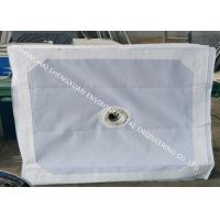 No Blocking Press Filter Cloth , Sludge Dewatering Micron Water Filter Fabric Manufactures