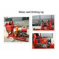 High Speed Core Drill Rig 100-180m Drilling Depth With Hydraulic Feeding Manufactures
