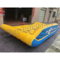 Crazy UFO Banana Inflatable Fly Fishing Boats For Summer Outdoor Activities Manufactures