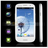4.8 smart phone S3, android 4.1 OS, 1GMS+1WCDMA slot, with Bluetooth, GPS, MP3, Ebook Manufactures