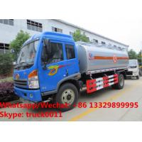 China 2020s best price customized FAW RHD 7cbm Oil bowser vehicle for sale, Wholesale price FAW RHD fuel tank delivery truck on sale